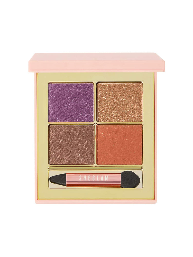 Load image into Gallery viewer, TECHNO Eyeshadow Quad - ACID
