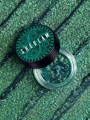 STAY WILD Jelly Glitter - PEACOCK