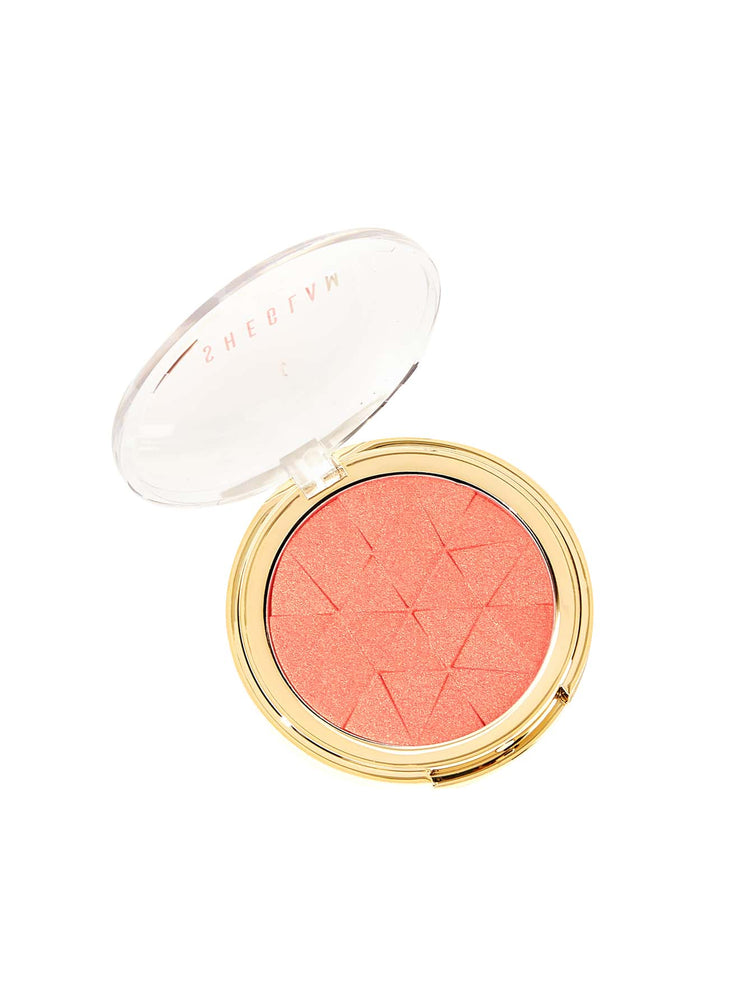 METALLIC GLOW Blush-HOLD ON