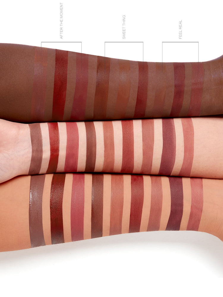 Newly Reformulated - MATTE ALLURE Mini Liquid Lipstick Set - FEEL REAL