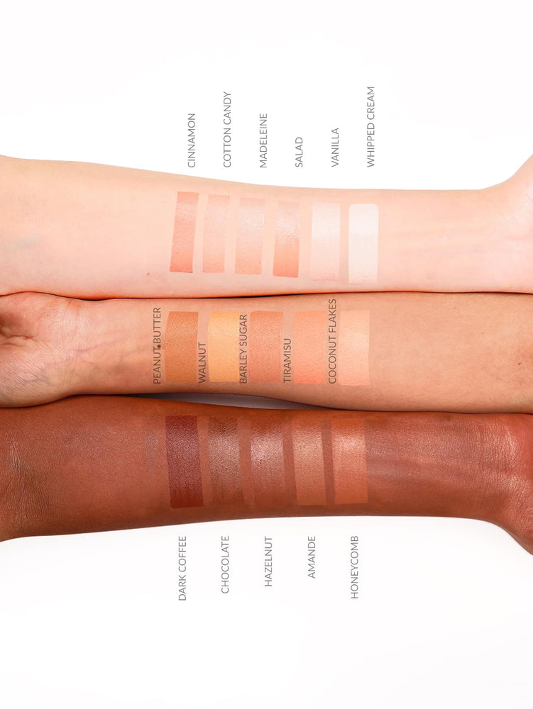 Newly Reformulated - 12-HR Full Coverage Concealer - CHOCOLATE