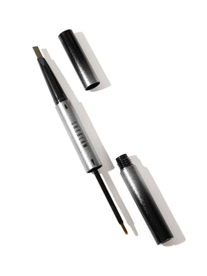 Shape & Set Eyebrow Pencil & Gel Duo-CHOCOLATE