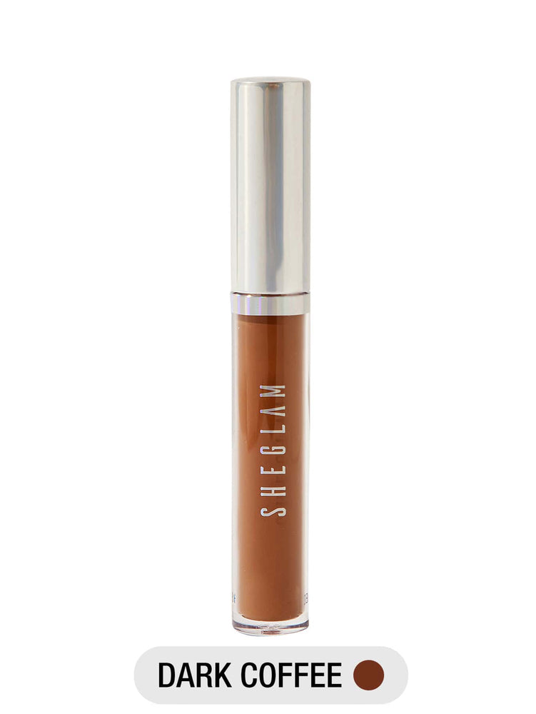 Newly Reformulated - 12-HR Full Coverage Concealer - DARK COFFEE