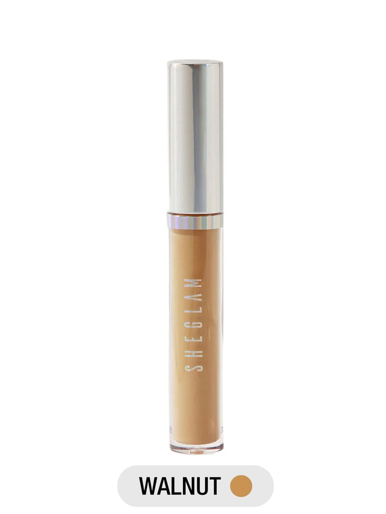 Newly Reformulated - 12-HR Full Coverage Concealer - WALNUT