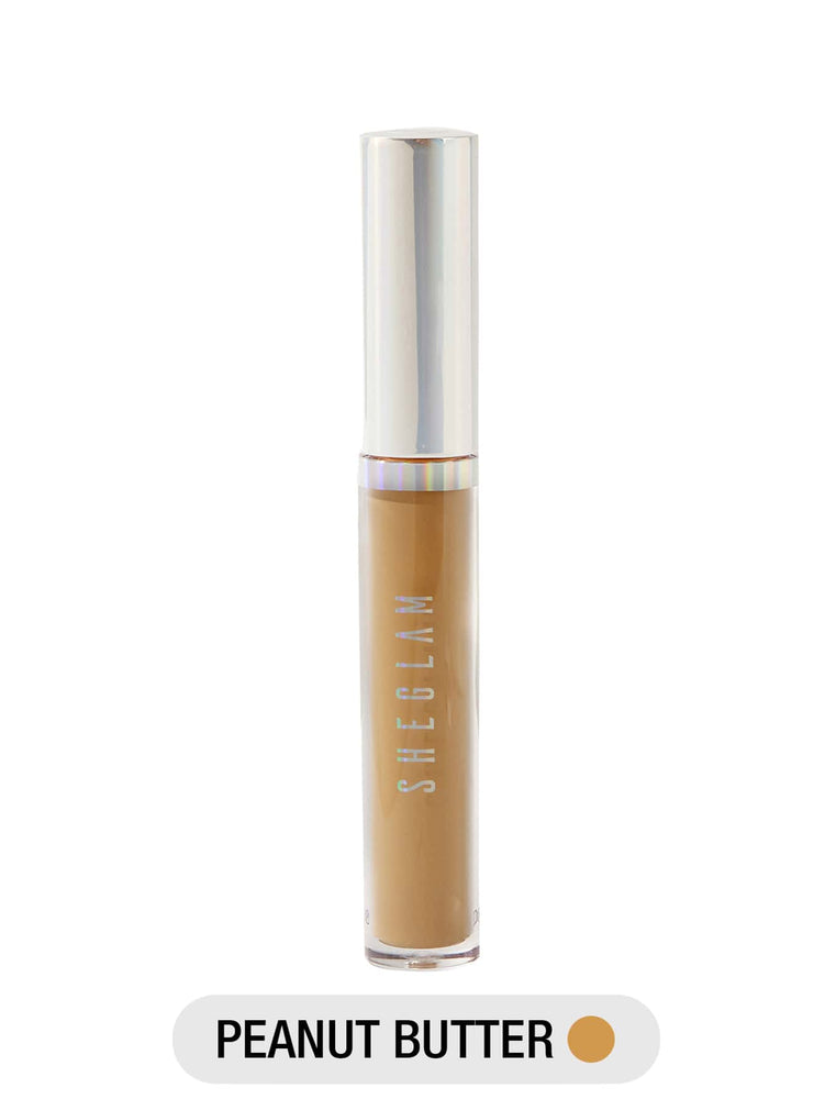 Newly Reformulated - 12-HR Full Coverage Concealer - PEANUT BUTTER