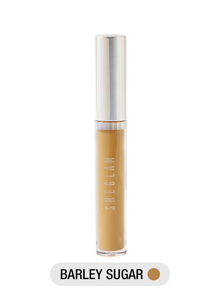 Newly Reformulated - 12-HR Full Coverage Concealer - BARLEY SUGAR
