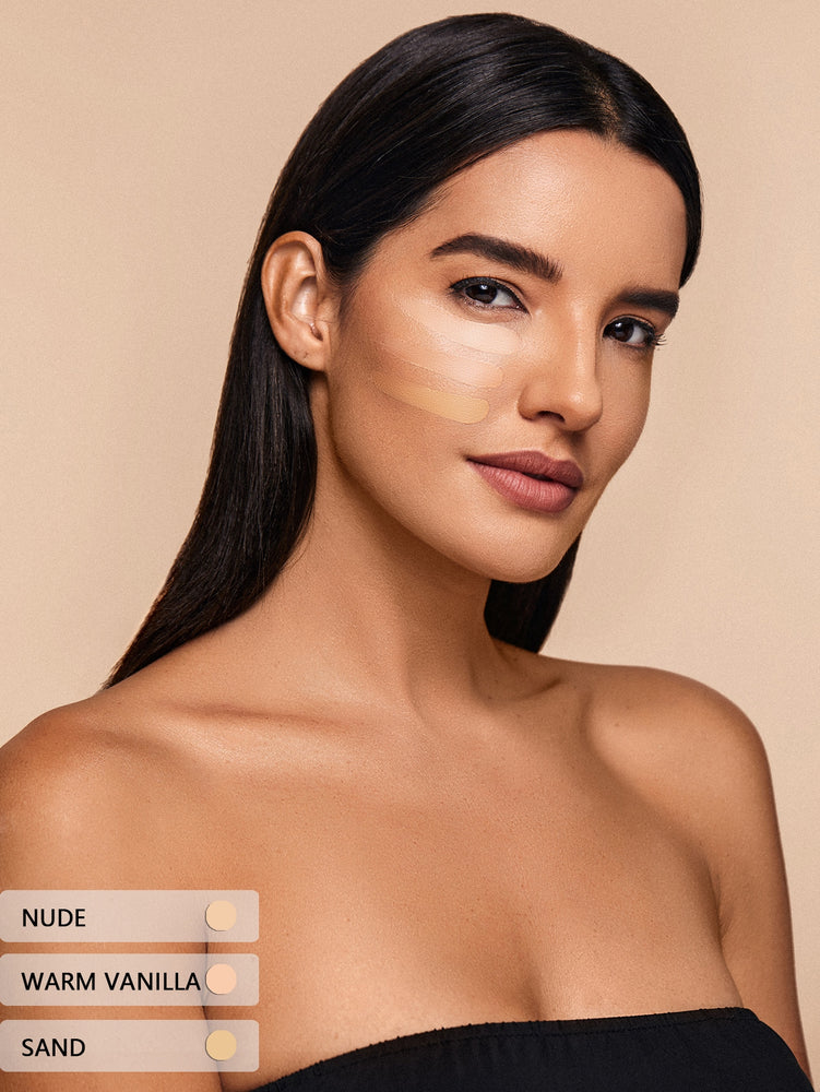 COMPLEXION PRO Long Lasting Breathable Matte Foundation-NUDE