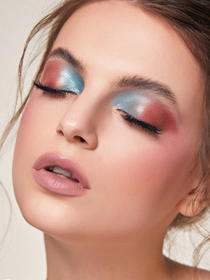 Newly Reformulated - Glitter Liquid Eyeshadow Trio - SEASIDE LOUNGE