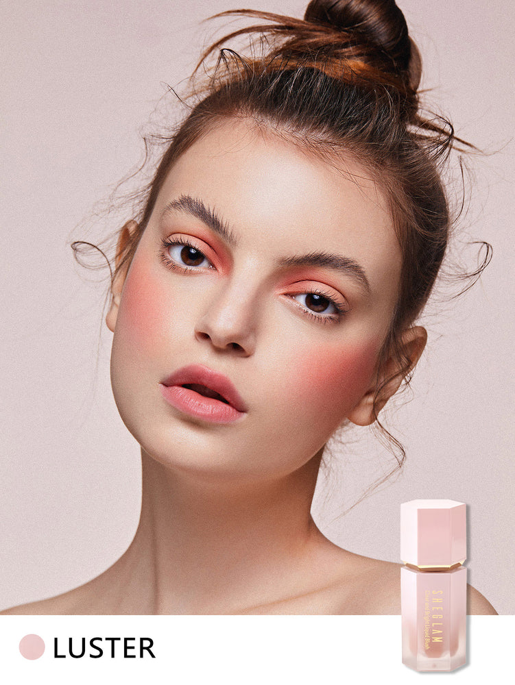 CLEAR AND BRIGHT Liquid Blush - LUSTER