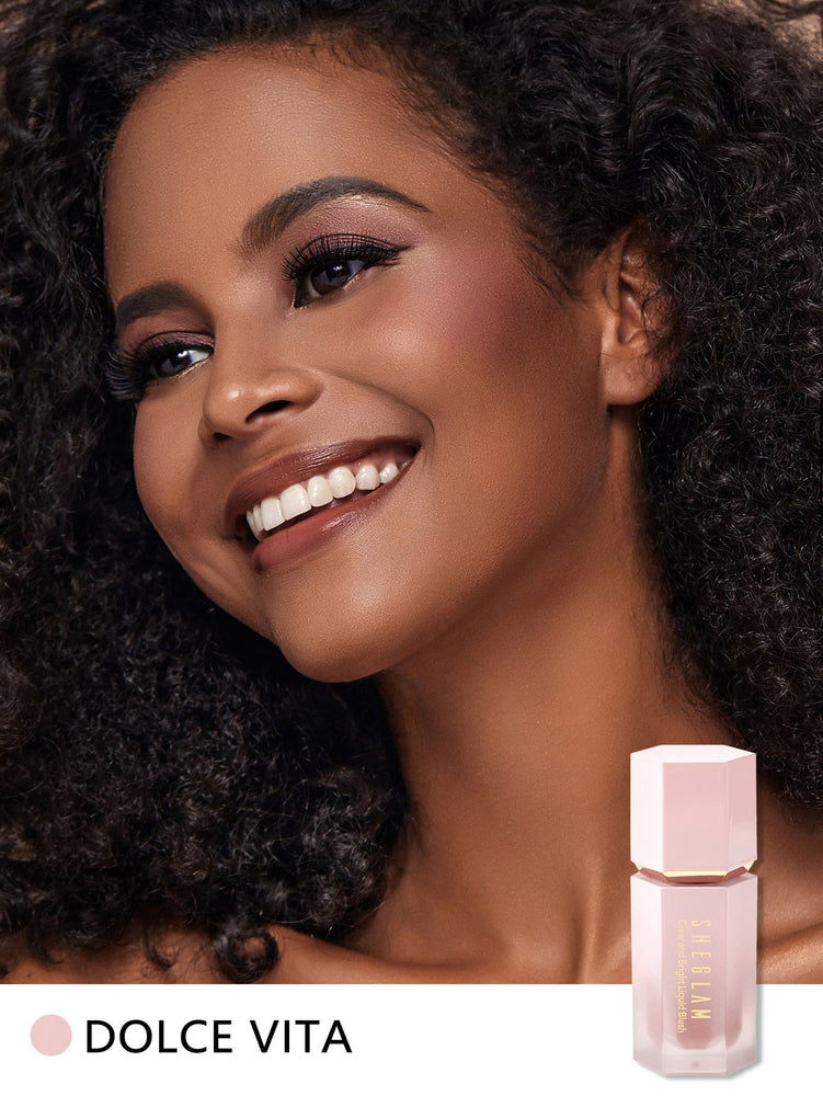 CLEAR AND BRIGHT Liquid Blush - DOLCE VITA