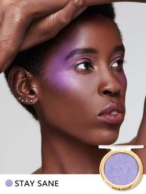 Load image into Gallery viewer, Newly Reformulated - METALLIC GLOW Highlighter-STAY SANE