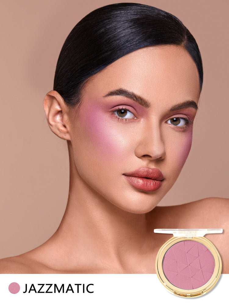 Newly Reformulated - METALLIC GLOW Blush-JAZZMATIC