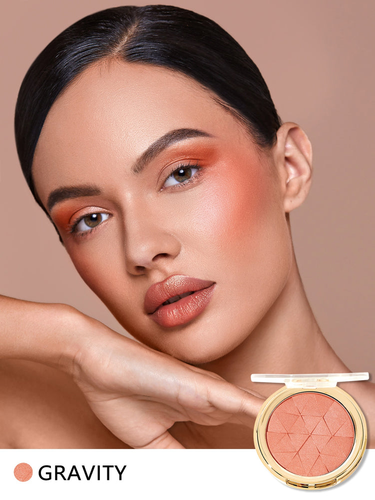 Newly Reformulated - METALLIC GLOW Blush-GRAVITY