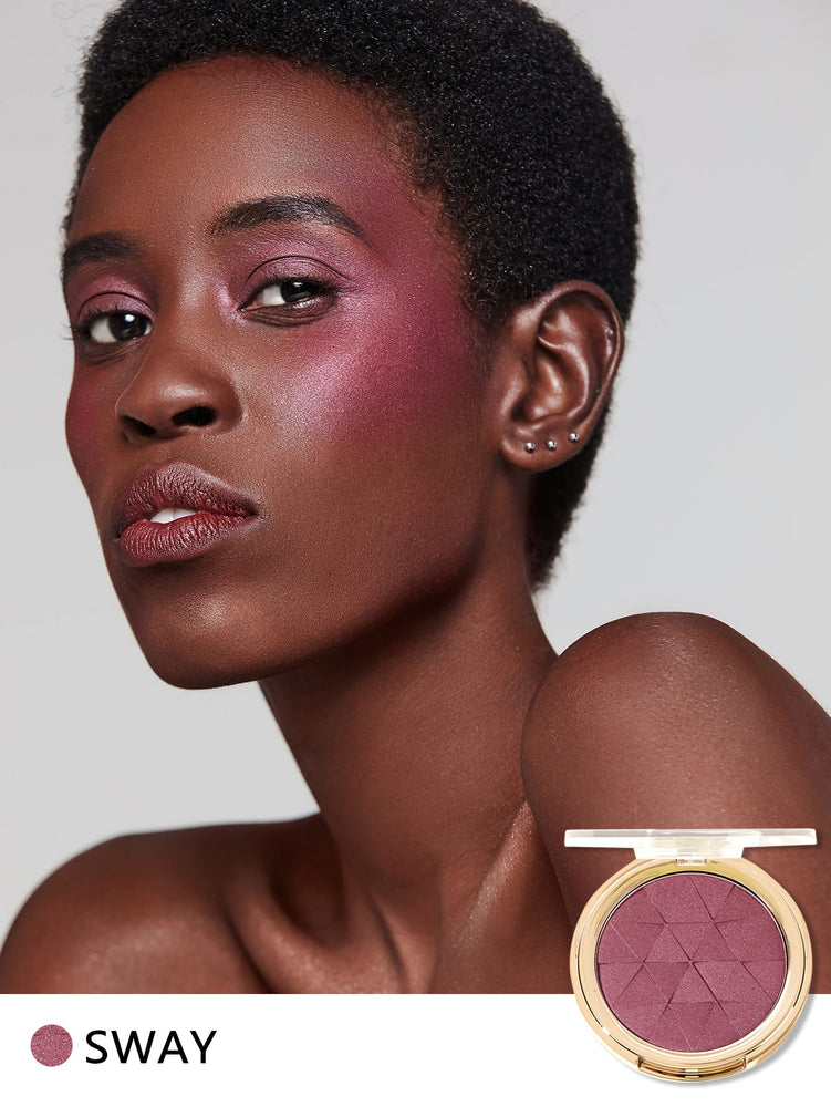 Newly Reformulated - METALLIC GLOW Blush-SWAY