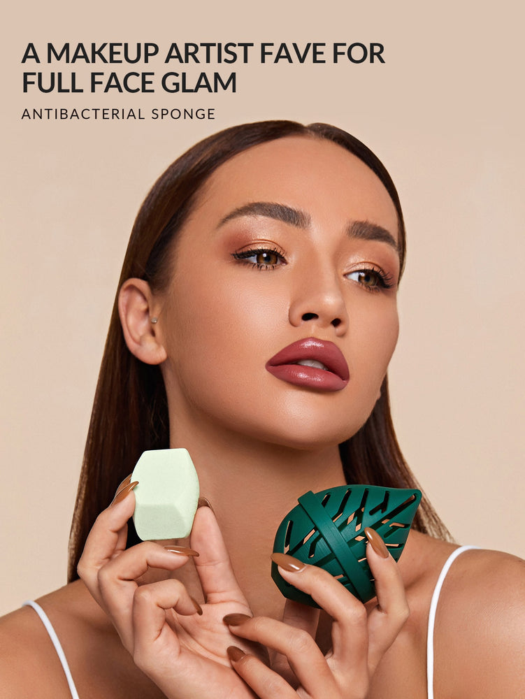 Multi-Faceted Makeup Sponge
