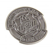 Pin Badge Crest Silver