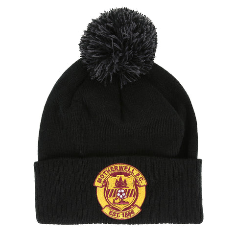 Bobble Hat Black Junior