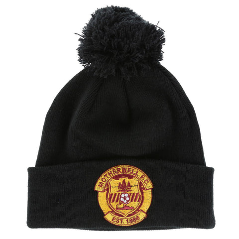 Bobble Hat Black Senior