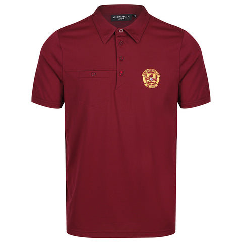 Glenmuir Lowther Polo Bordeaux