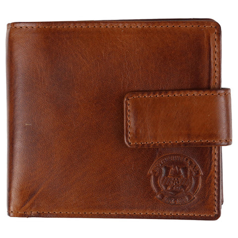 Ridgeback Leather Wallet Brown
