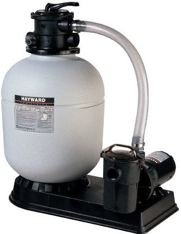Hayward S166t Sand Filter System 1 Hp Power Flo Pump
