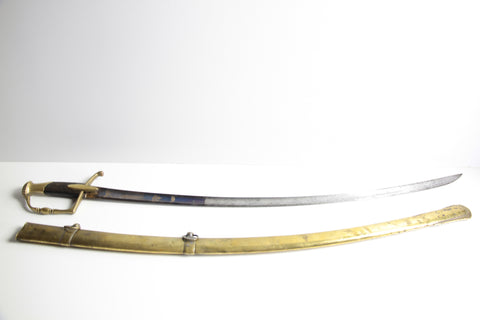 French Napoleonic light cavalry officer Sabre