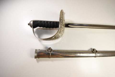 British infantry officer sword P1897