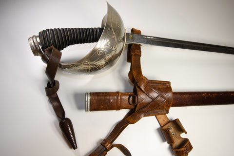 British cavalry officer sword P1912