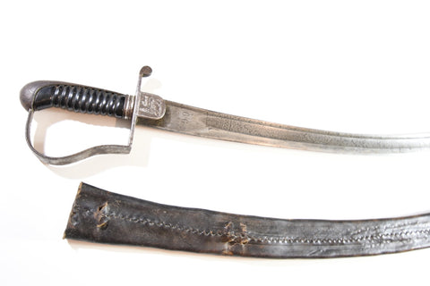 Ethiopian Cavalry Sabre - Abyssinie - Germany (Long Curve)