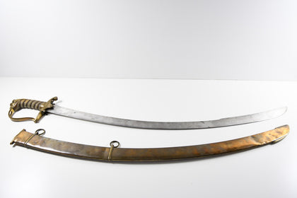 British Georgian Officer sword - Lion Head