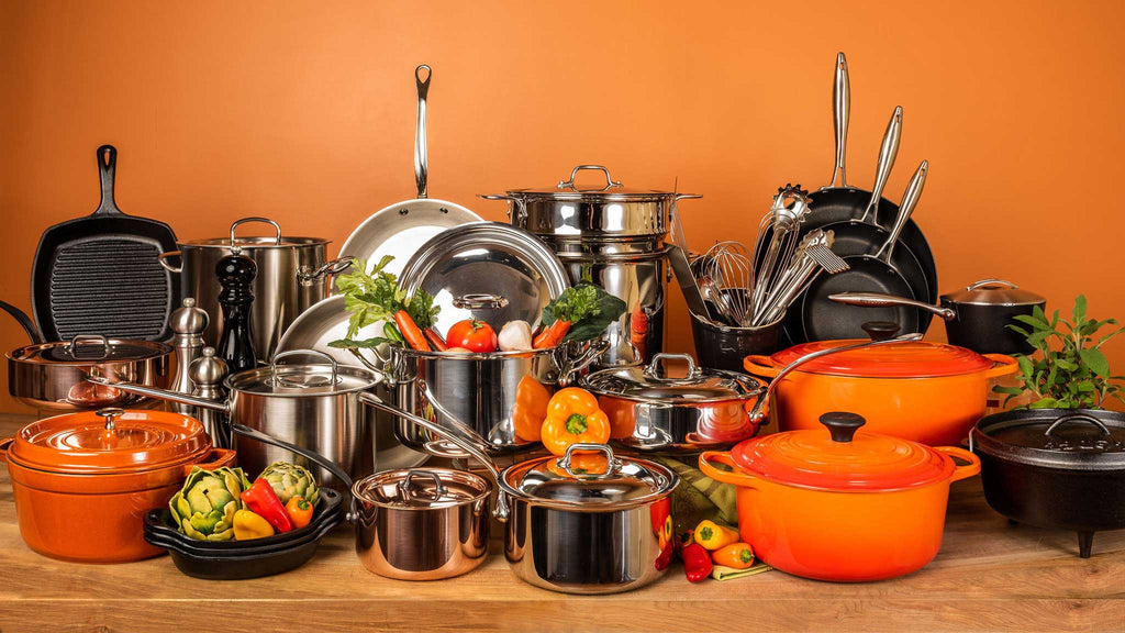 Cookware: Enameled Cast Iron, Non Stick & Copper - Kitchen Outfitters