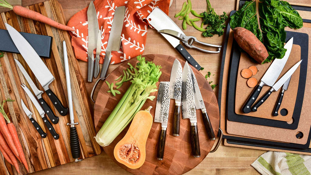 Kitchen Knives & Sharpening Tools - Kitchen Outfitters