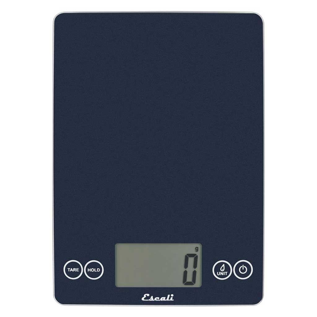Escali Arti Glass Digital Scale Blue Mirage