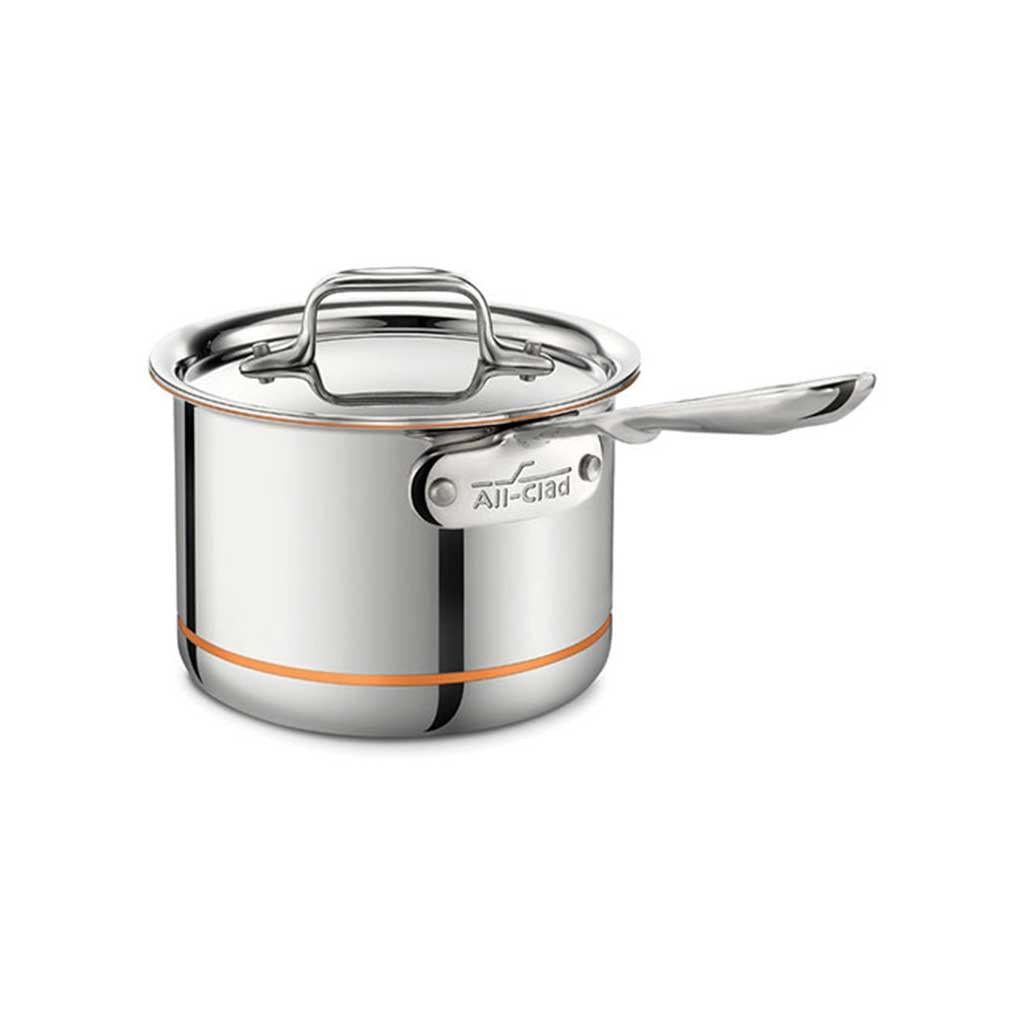 All Clad Copper Core 2 Qt Sauce Pan