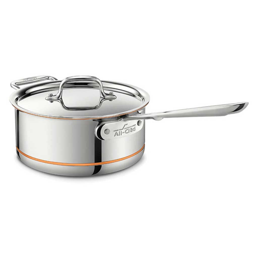 SALE! All Clad Copper Core 3 Qt Sauce Pan