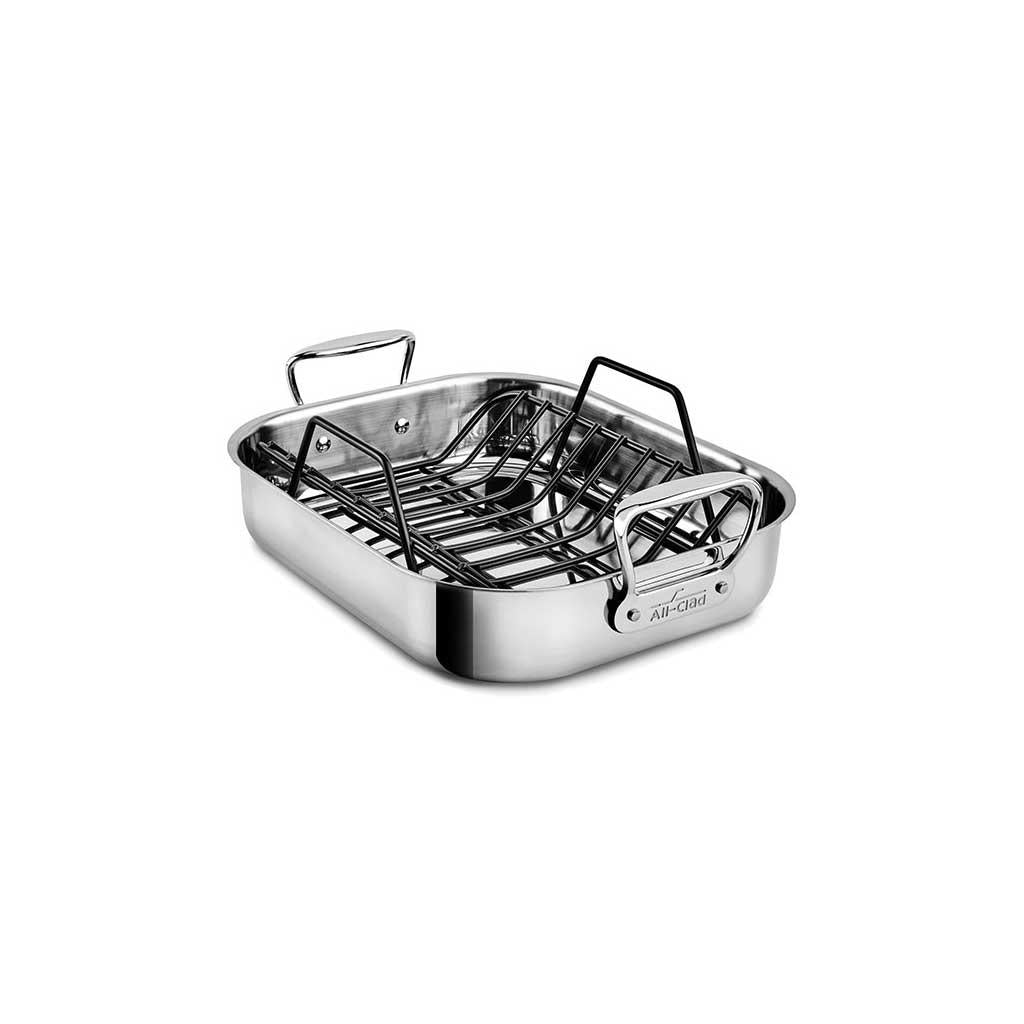 SALE! All Clad Small Roaster with Non-Stick Rack