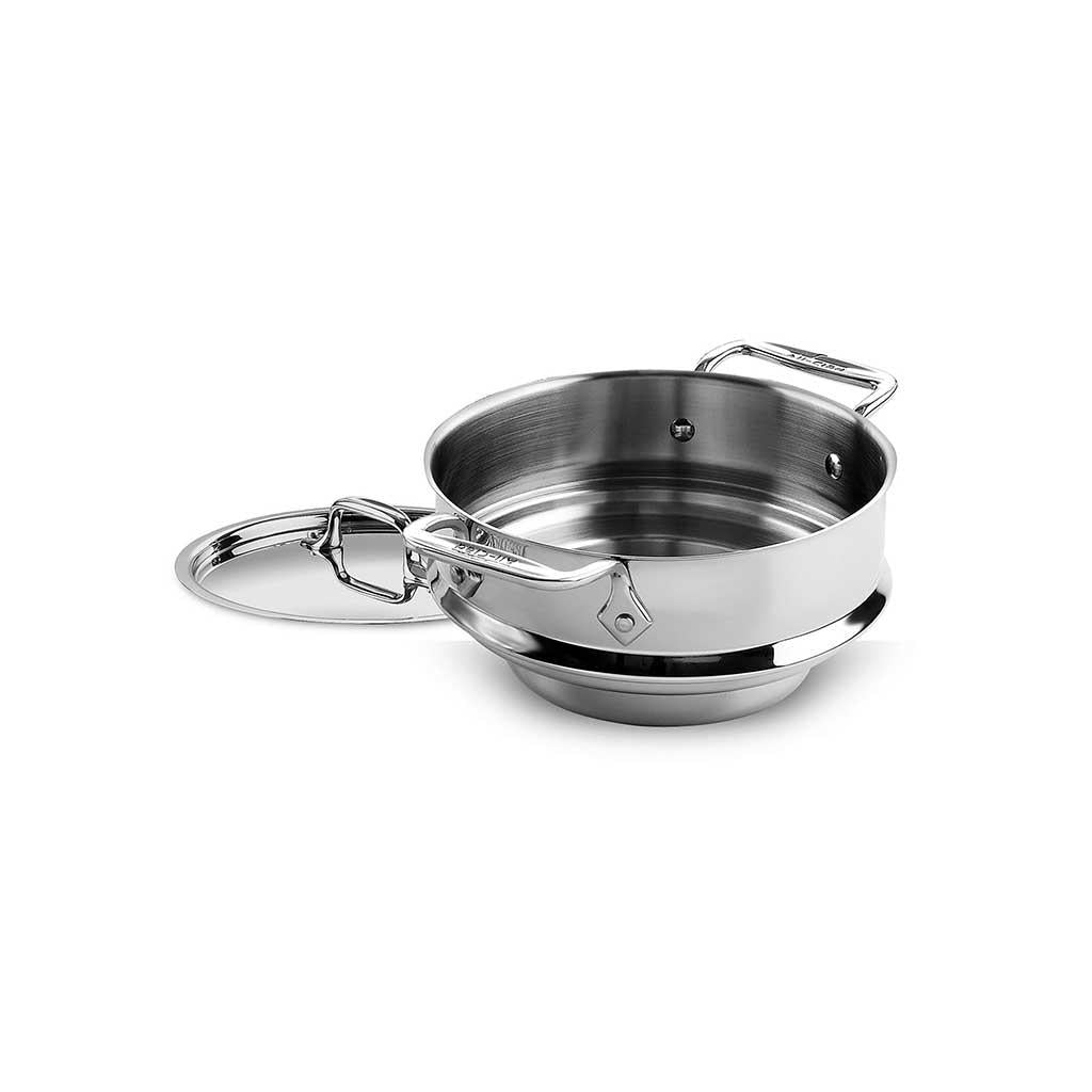 All Clad Steamer 3 qt with two loops and lid