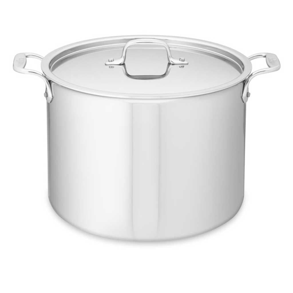 All Clad D3 12 Qt Stock with lid