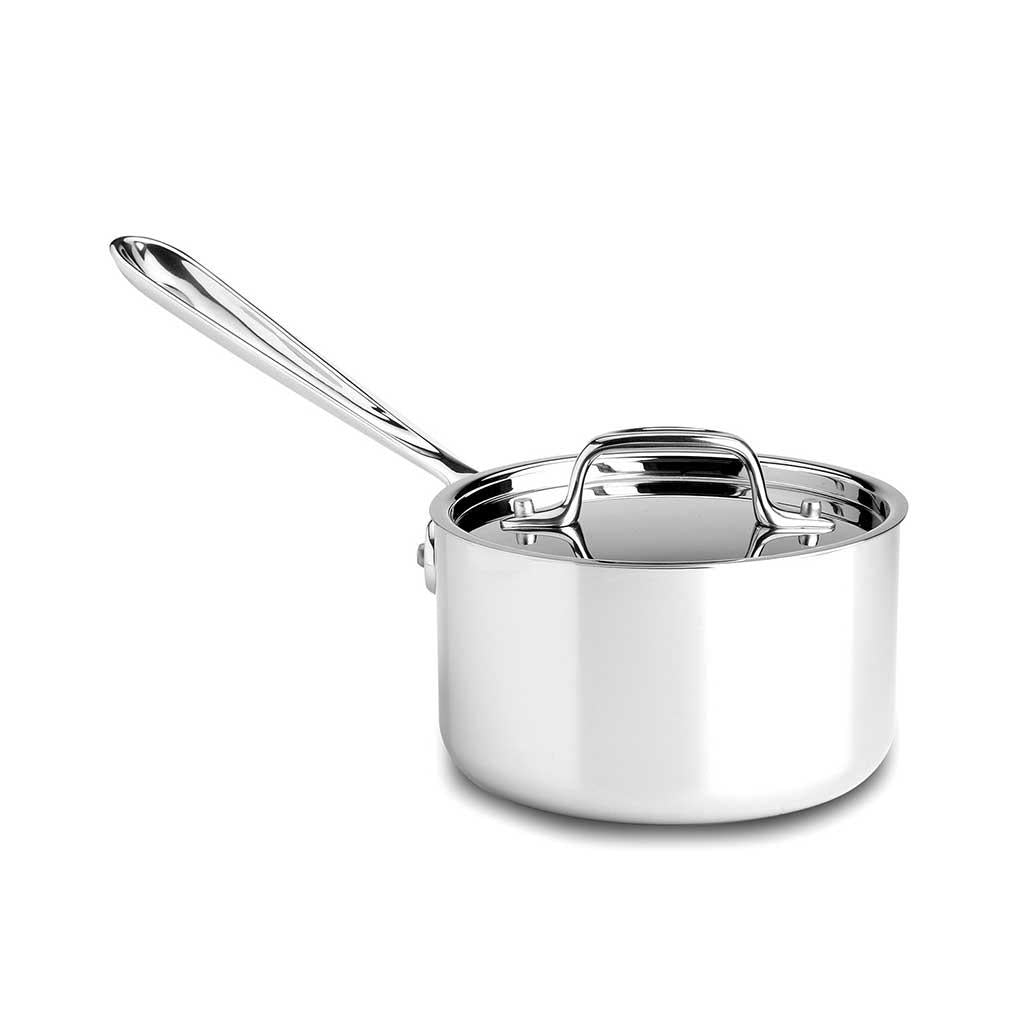 All Clad D3 1.5 Qt Sauce Pan