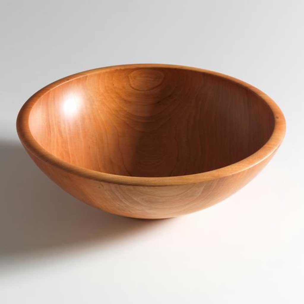 Cherry Wooden Bowl by Andrew Pearce 10 inch