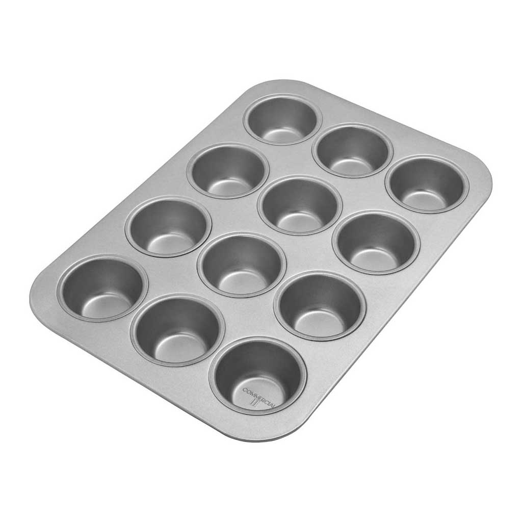Muffin Pan Standard 12 Wells by Chicago Metallic