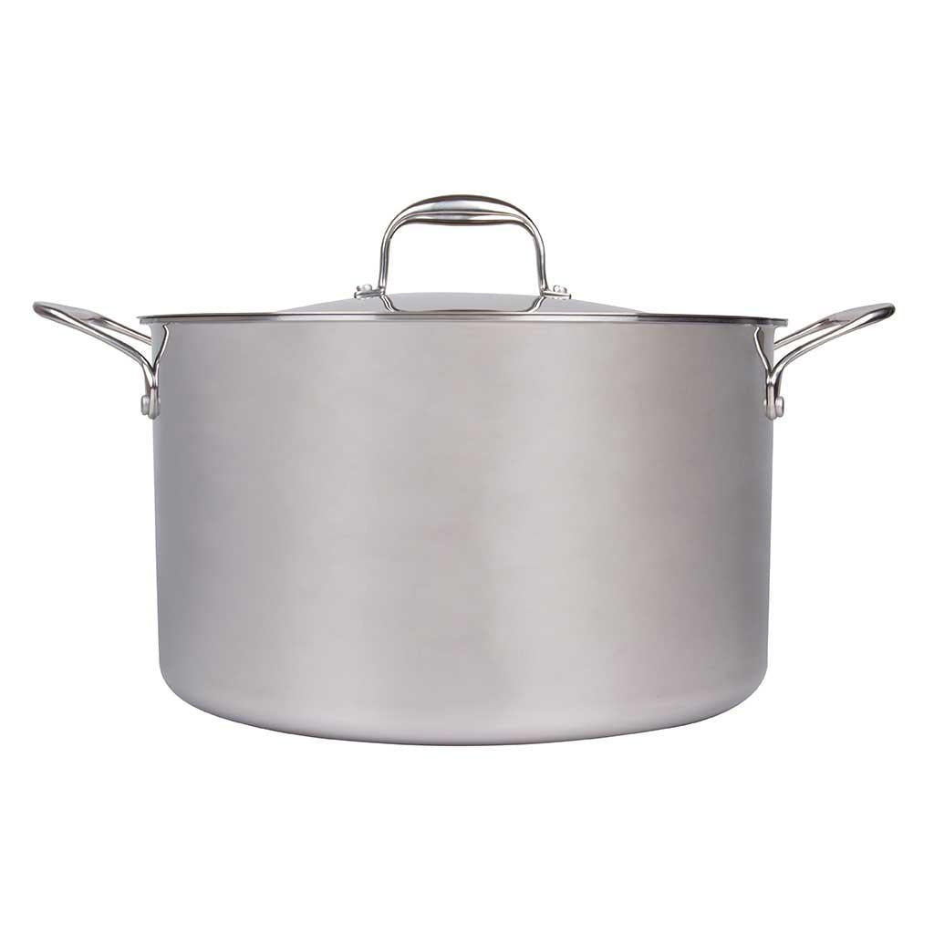 Camerons 12 Qt Tri Ply Stock Pot with Lid
