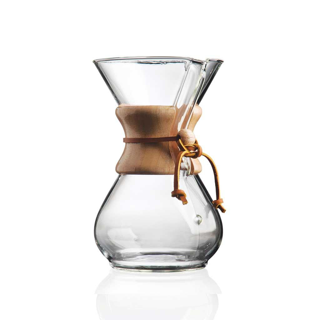 Chemex Classic Pourover Coffeemaker 6 cup