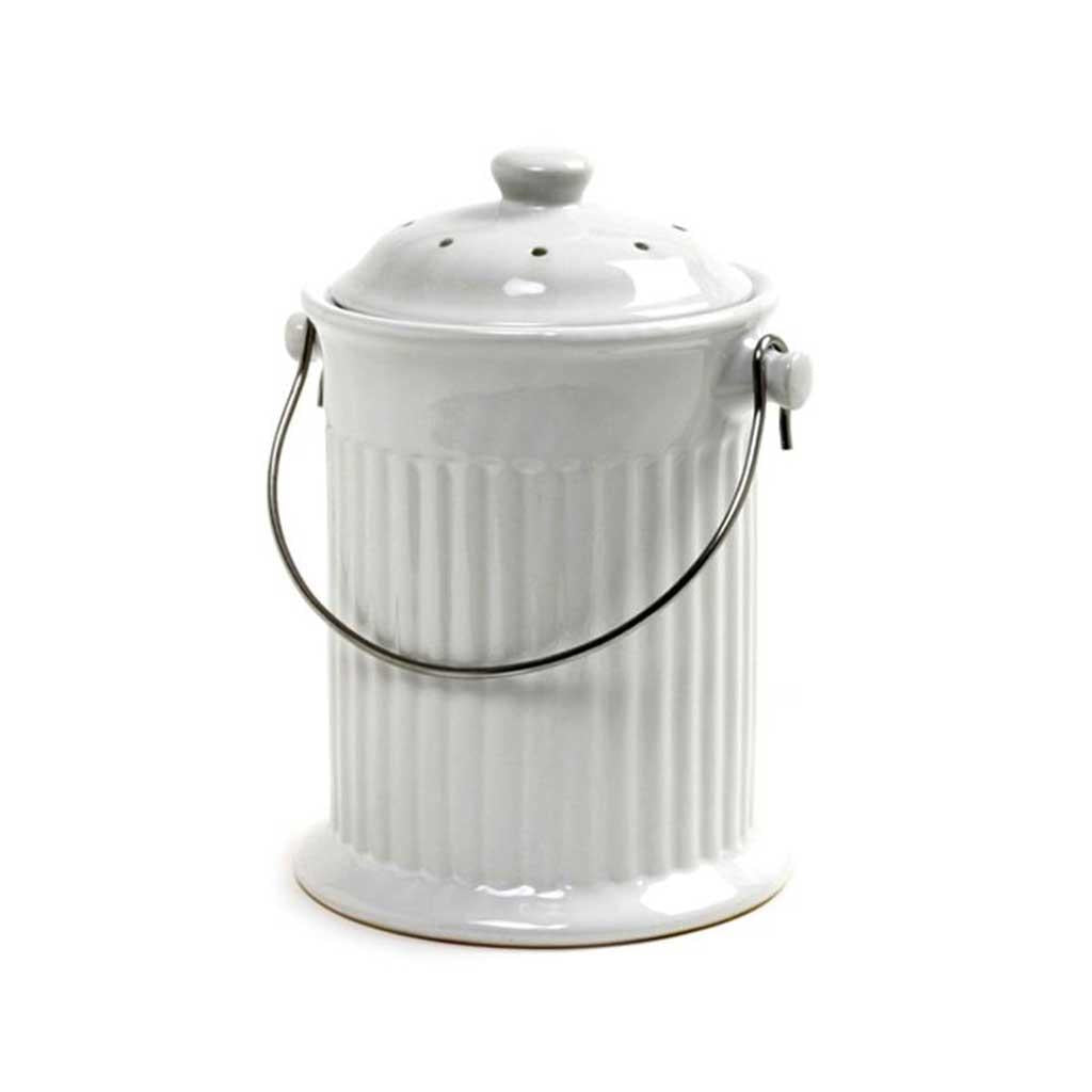 Countertop Compost Pail Ceramic