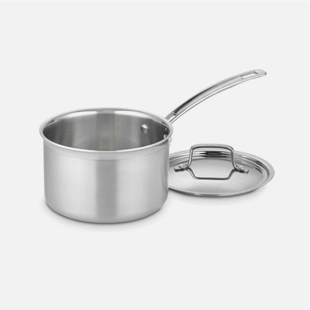 3 Qt Saucepan with Lid by Cuisinart
