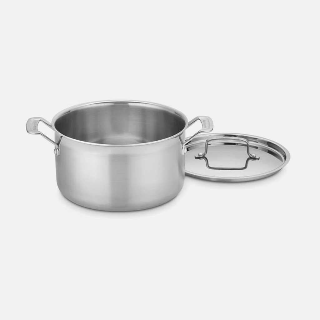 Cuisinart MultiClad Pro 6 Qt Stockpot with Lid
