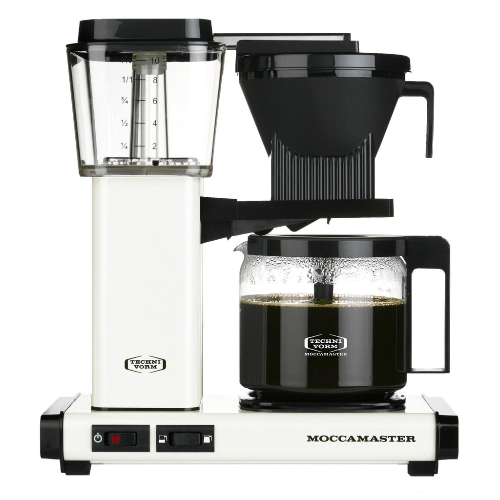 Moccamaster Glass KBGV Select Off White Coffeemaker by Technivorm
