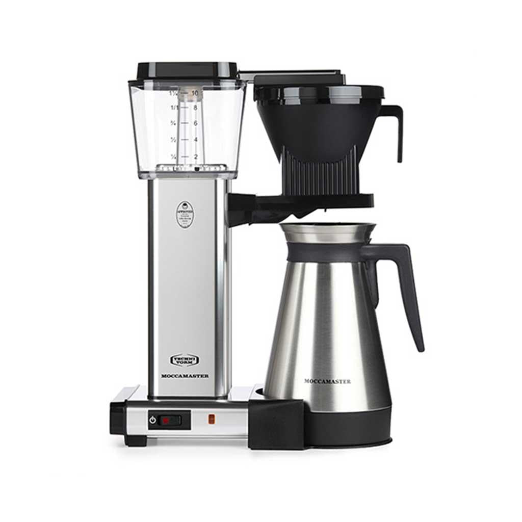 Moccamaster Thermal KBGT Silver Coffeemaker by Technivorm