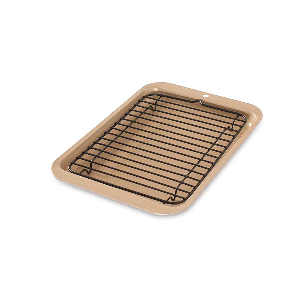 Compact Broiler Pan Set by Nordic Ware