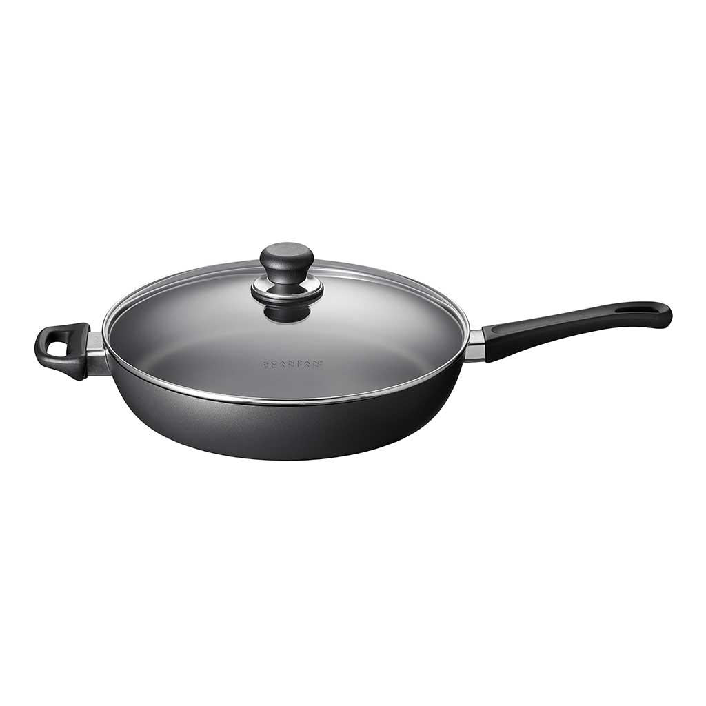 Scanpan Classic Saute with Glass Lid 12.5 inch 4.25 qt